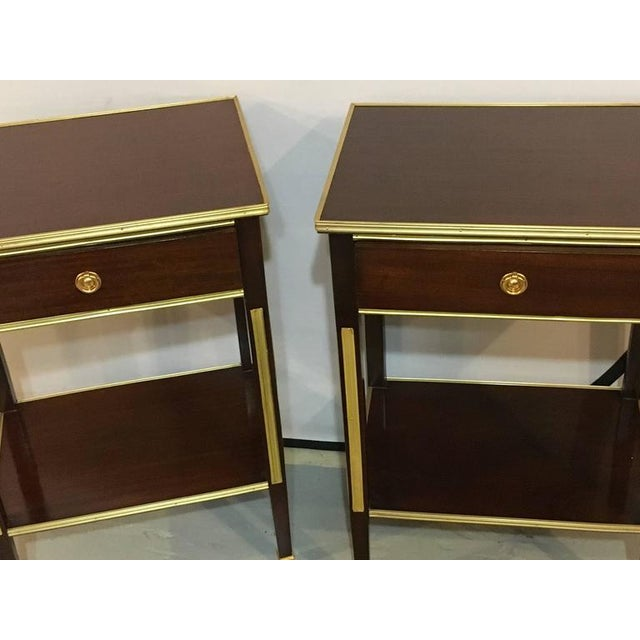 Russian Style Bronze Mounted End Tables - A Pair - Image 2 of 8