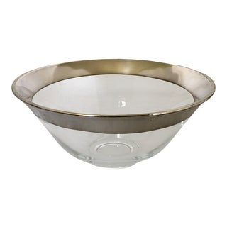 Dorothy Thorpe Silver Banded Bowl
