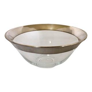 Dorothy Thorpe Silver Banded Bowl