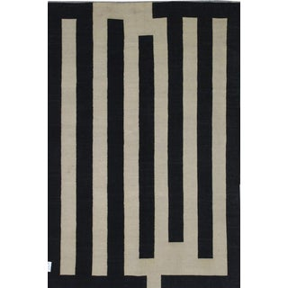 Pasargad Art-Deco Style Wool Kilim - 6′9″ × 9′7″