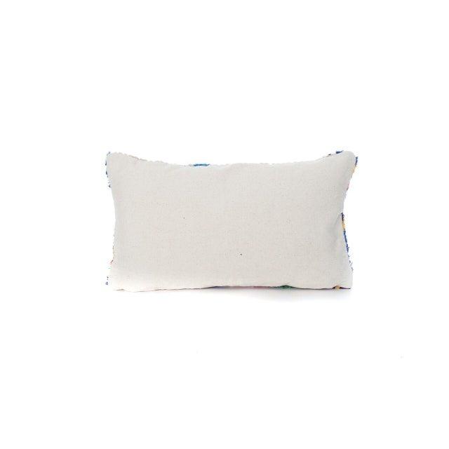 Moroccan Boucherouite Pillow - Image 3 of 3
