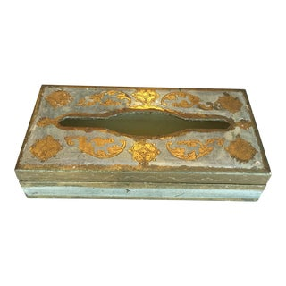 Vintage Florentine Tissue Box Holder