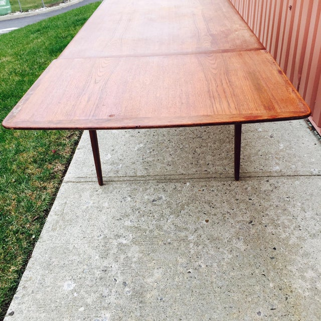 Danish Modern Dining Table by Svend Madsen - Image 3 of 7