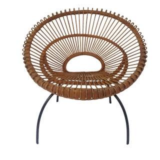 1950's Italian Franco Albini Hoop Chair