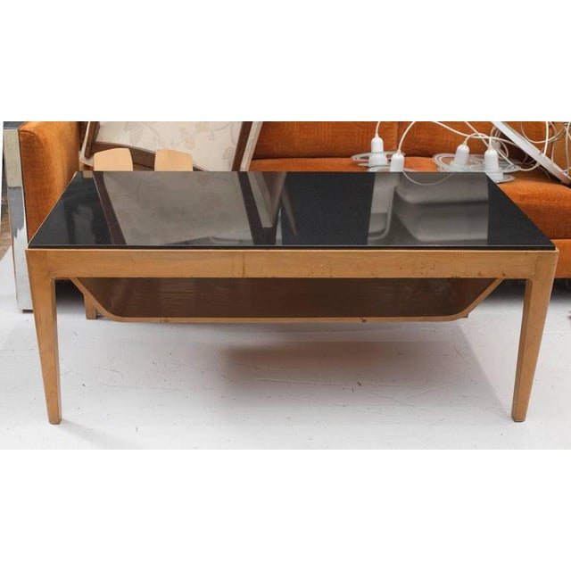 Italian Granite Top Coffee Table Chairish
