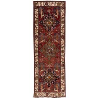 "Apadana - Vintage Persian Heriz Rug, 3'7"" x 10'8"""