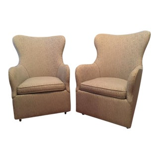 CR Laine Cayden Swivel Chairs - A Pair