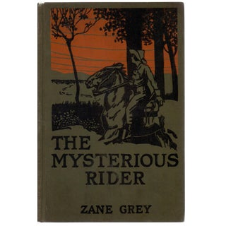 'The Mysterious Rider' Book by by Zane Grey