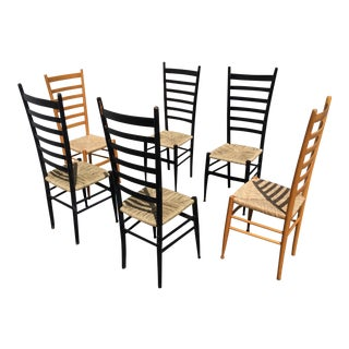 Italian Ladder Back Dining Chair - Set of 6