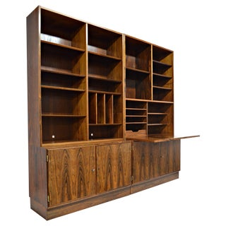 Rio-Rosewood Wall Unit by Carlo Jensen