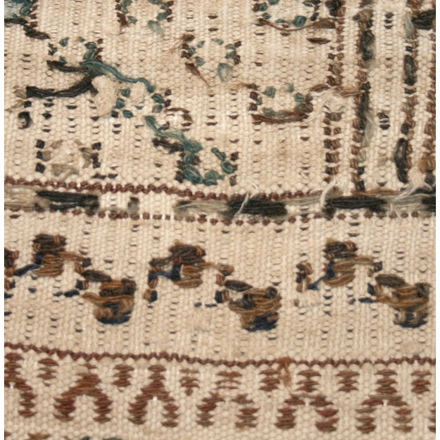 Image of Earthy Vintage Turkish Flatweave Kilim - 6' X 9'6