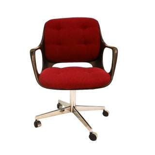 Chromecraft Mid Century Modern Herman Miller Style Office Chair