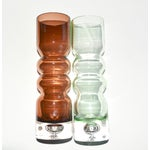 Image of Mid Century Glass Vases - Set of 3