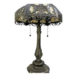 Vintage Ornate Art Nouveau Table Lamp