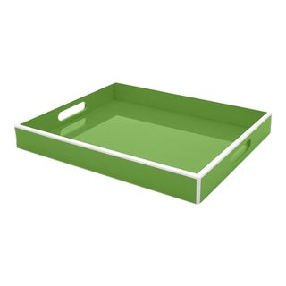 Kelly Green Lacquer Tray