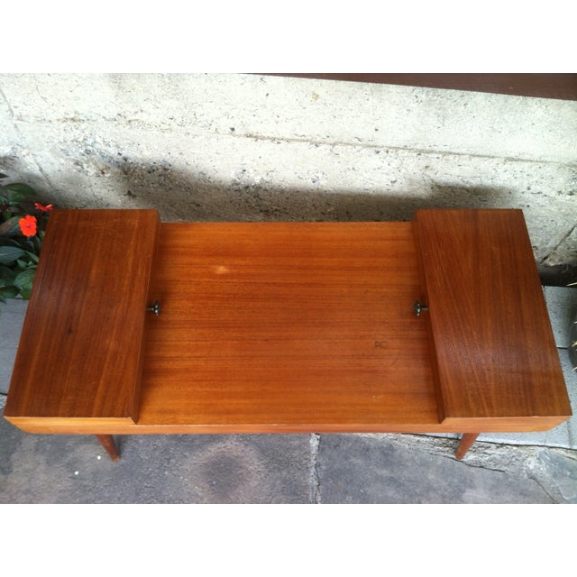 Vintage Rock-Ola Coffee Table / Game Table - Image 7 of 11