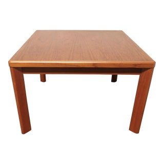 Vejle Stole & Mobelfabrik Danish Modern Teak Side Table