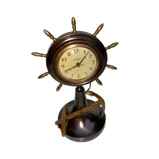 Anchor Ships Clock