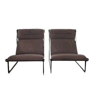 Knoll Hannah Morrison Sling Chairs - A Pair