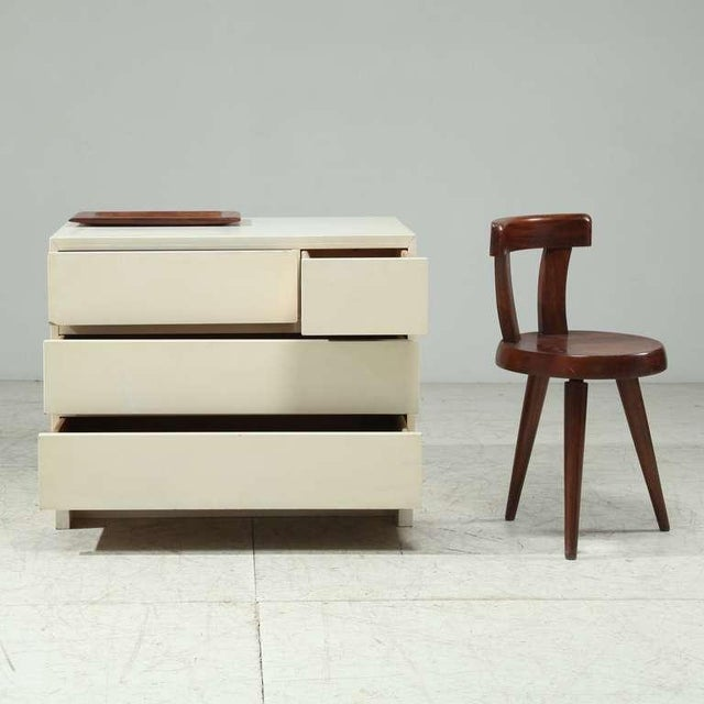 1950s Artek freestanding chest of drawers in white - Image 3 of 6