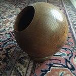 Image of Vintage Round Wooden Dish