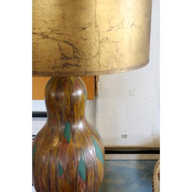 Ceramic Gourd Shaped Lamp - Image 5 of 6
