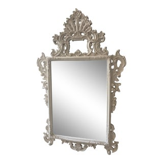 Large Scrolled Wall Mirror