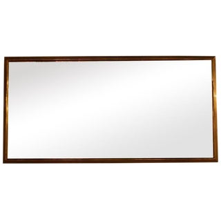 French Brass Bistro Mirror