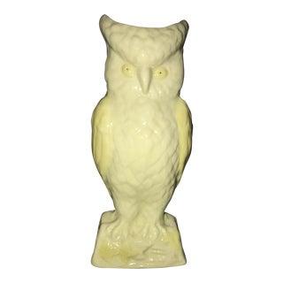 Baleek Owl Green Vase