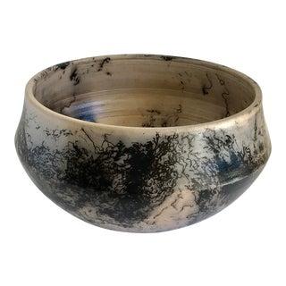 Black & Gray Studio Pottery Bowl