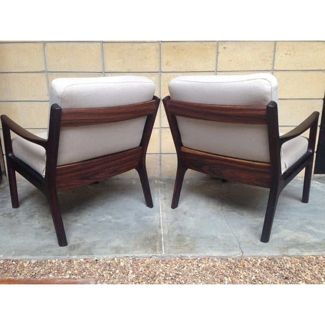 Ole Wanscher Mid-Century Rosewood Chairs - A Pair - Image 7 of 9