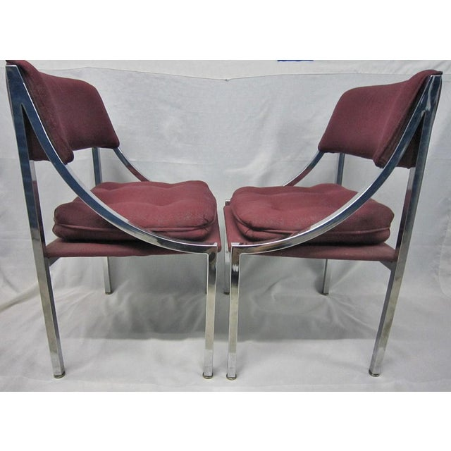 Milo Baughman Dining Chairs - A Pair - Image 7 of 7
