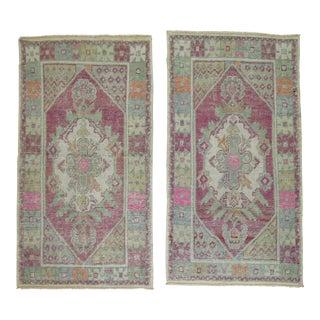 Vintage Turkish Rugs - a Pair - 2'8'' x 4'8''