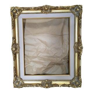 Gold & Beige Velvet Frame