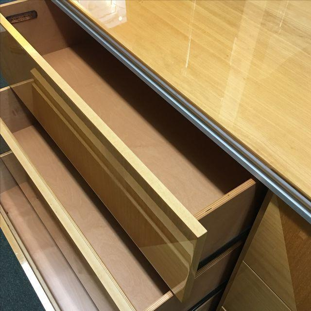 Giorgio Collection Parquet Dresser with Mirror - Image 8 of 10