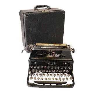 Vintage Royal Manual Typewriter with Original Hard Case