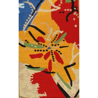 Pasargad Contemporary Flat Weave Rug - 5' X 8'