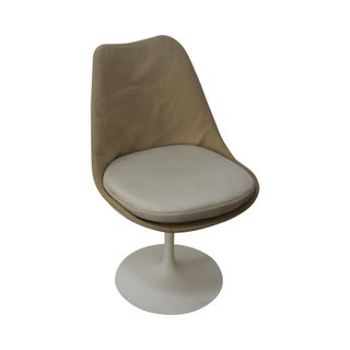 Knoll Eero Saarinen Mid Century Armless Side Chair