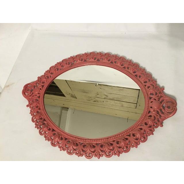 Emig Cast Iron Oval Mirror - Image 2 of 7
