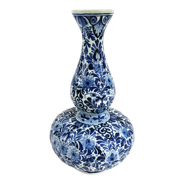 Large Dutch Delft Vase - Image 1 of 7
