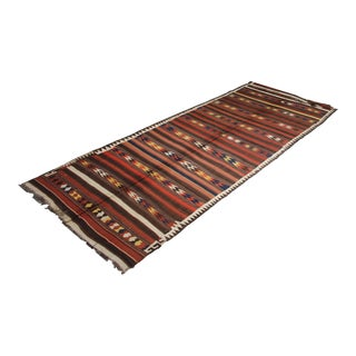 "Hand Knotted Antique Maimana Kilim by Aara Rugs - 16'0"" x 6'0"""