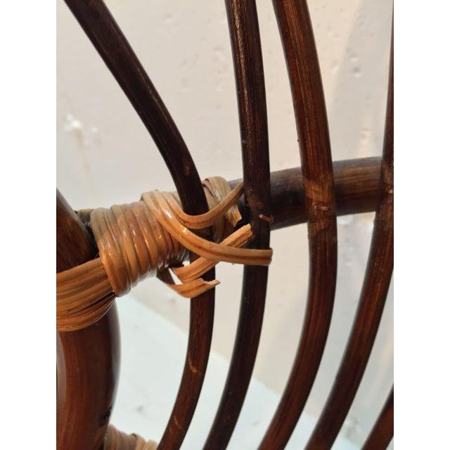 Franco Albini Style Rattan Chair - Image 5 of 7