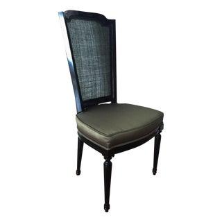 Vintage Louis XVI Style Cane Back Chair