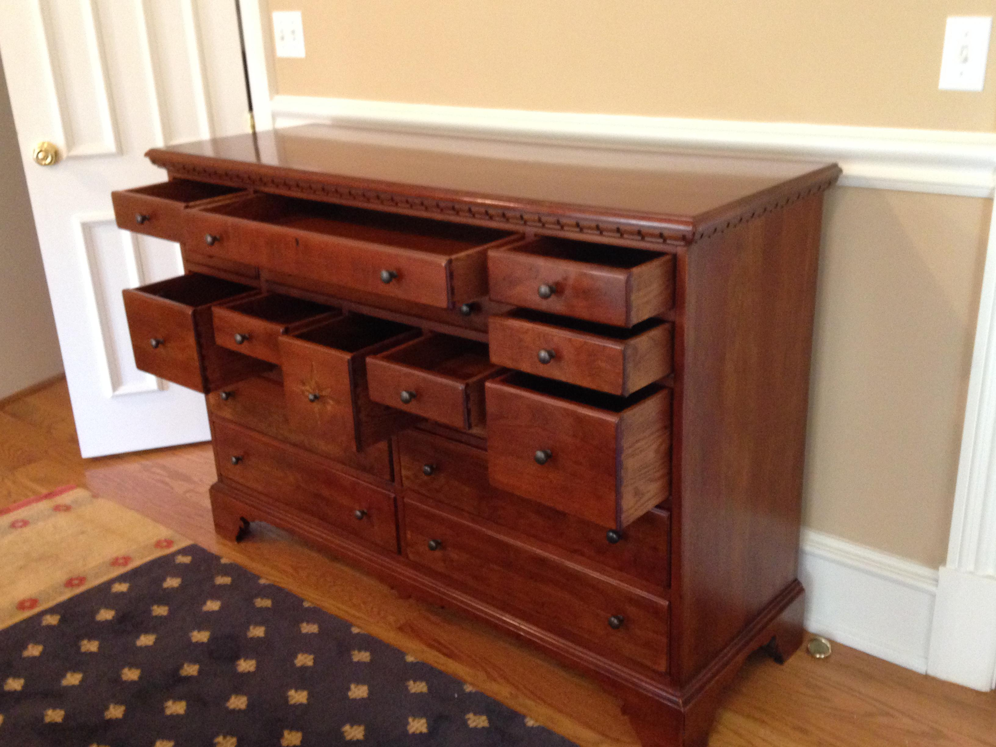 Bob Timberlake Old Salem By Lexington Collectors Chest Dresser Made In Usa    Image 4 Of
