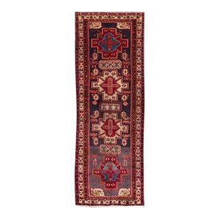 "Apadana - Vintage Persian Rug, 3'9"" x 10'6"""