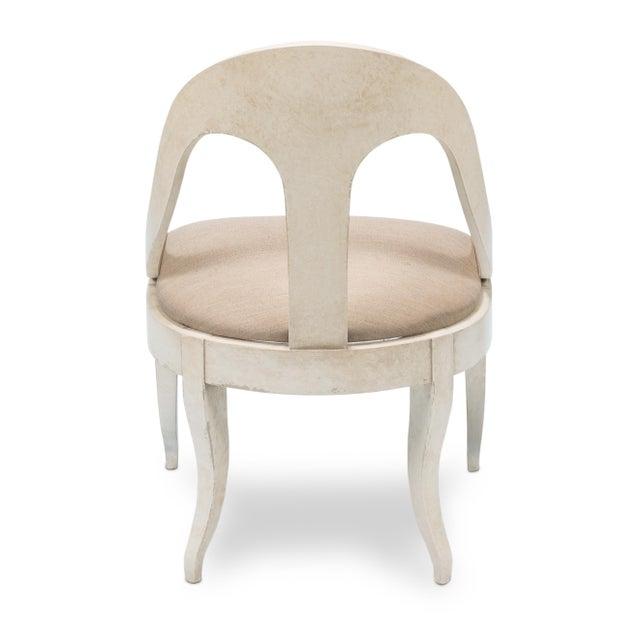 Sarreid LTD Alpiona Slipper Chair - Image 4 of 5