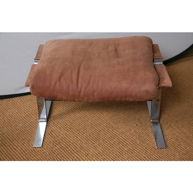 Richard Hersberger for Pace Lounge Chair & Ottoman - Image 7 of 9