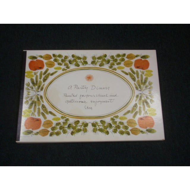 Vera Neumann For Gumps Hand Painted Placemats And Napkins