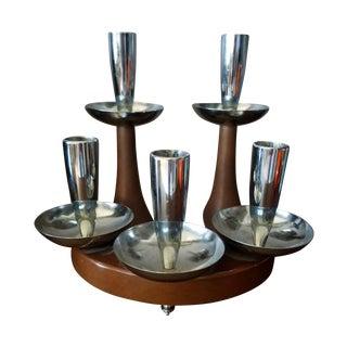 Assorted Danish Candleholders - Set of 3