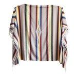 Image of Vintage Mexican Saltillo Blanket